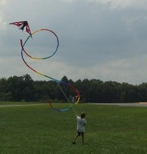 hunter smith and apollo sport kite from bald eagle flag store and kite shop