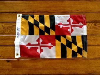 MARYLAND FLAG, FLAGPOLE, FLAG, FLAG PRODUCT AND FLAGPOLE INSTALLATION SERVICE BY BALD EAGLE FLAG STORE SERVING RICHMOND, HAMPTON, NEWPORT NEWS, NORFOLK, VA BEACH, ARLINGTON, ALEXANDRIA, FAIRFAX, PRINCE WILLIAM, STAFFORD, MANASSAS, HAYMARKET, WARRENTON, CULPEPER