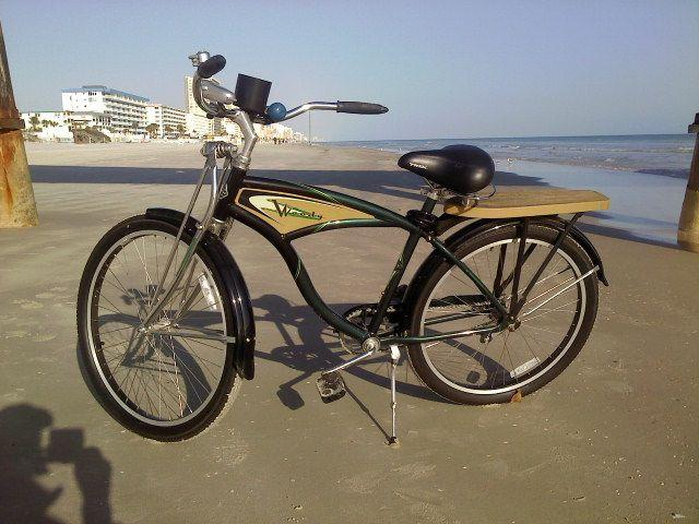 woody beach cruiser on daytona beach florida