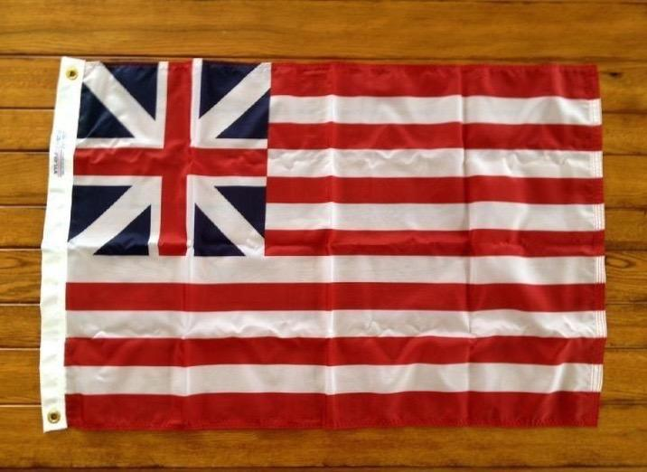 GRAND UNION FLAG, HISTORICAL FLAG BY BALD EAGLE FLAG STORE USA (540) 374-3480 Commercial Flagpole, Flag and Flag Product Since 1979