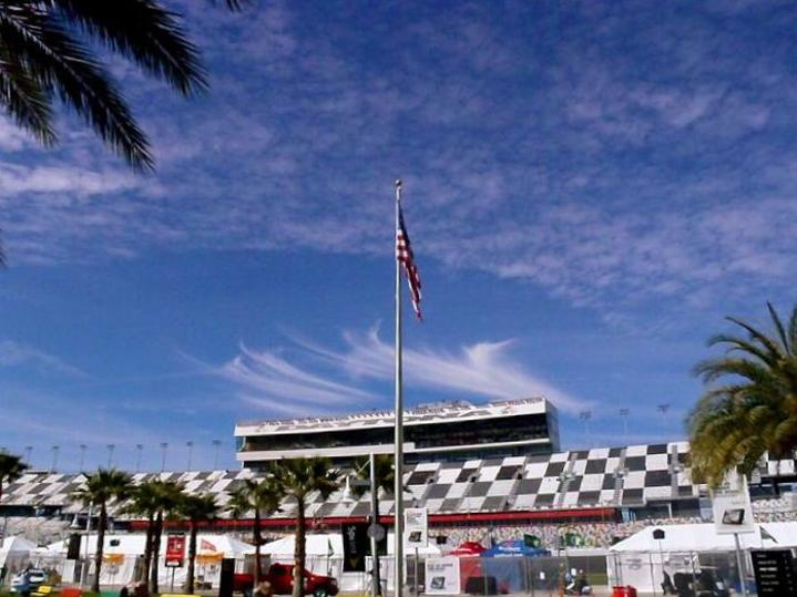 bald eagle flag store at the rolex 24 in daytona beach florida