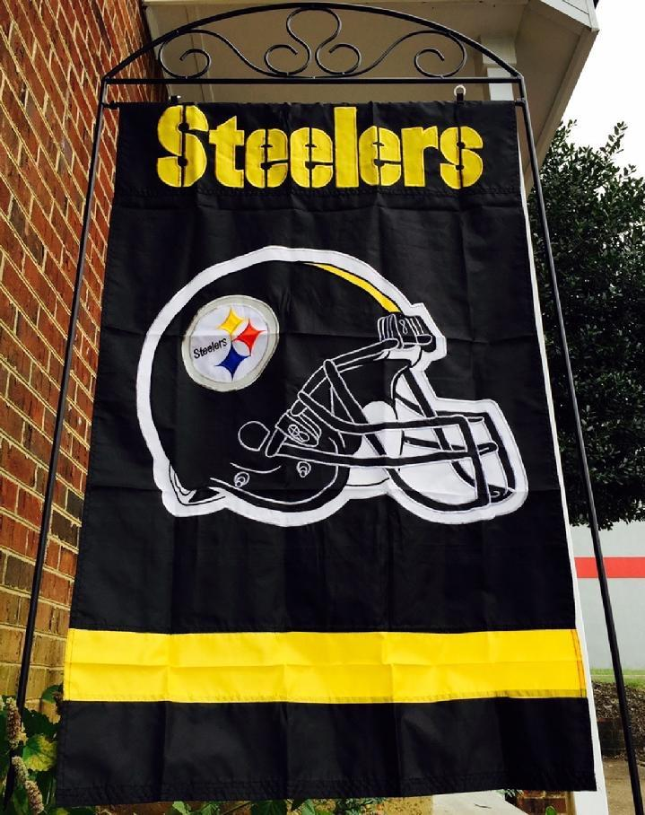 STEELERS FLAG NFL FLAG BY BALD EAGLE FLAG STORE FREDERICKSBURG VA USA, PHOTOGRAPH BY BALDEAGLEINDUSTRIES.COM (540) 374-3480 FLAG AND FLAGPOLE SALES BY BALD EAGLE INDUSTRIES SERVING RICHMOND, HAMPTON, NEWPORT NEWS, NORFOLK, VA BEACH, ARLINGTON, ALEXANDRIA, FAIRFAX, QUANTICO, STAFFORD